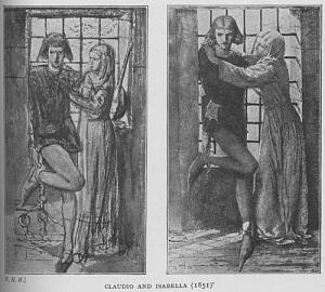 Claudio and Isabella (1851)