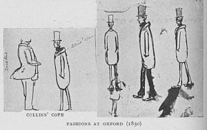 Fashions at Oxford (1850)