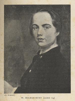 W. Holman-Hunt (Aged 14