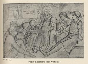 Poet Reciting His Verses
