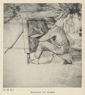 Millais at Work