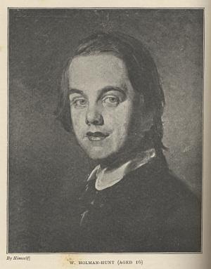 W. Holman-Hunt (Aged 16)