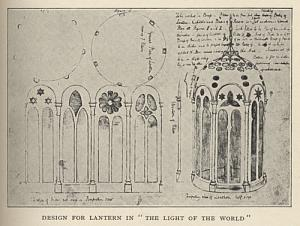 "Design for Lantern in ""The Light of the World"""