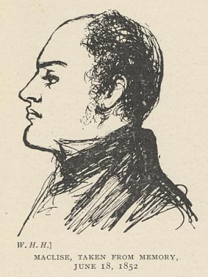 Maclise, Taken from Memory, June 18, 1852