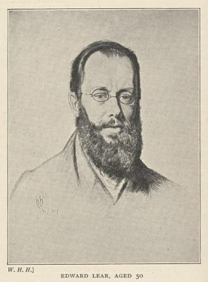 Edward Lear, Aged 50