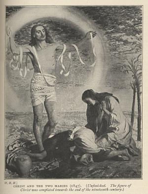 Christ and the Two Maries (1847)