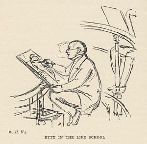Etty in the Life School