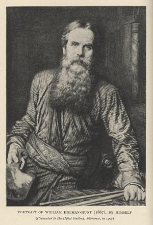 Portrait of William Holman-Hunt (1867), by Himself