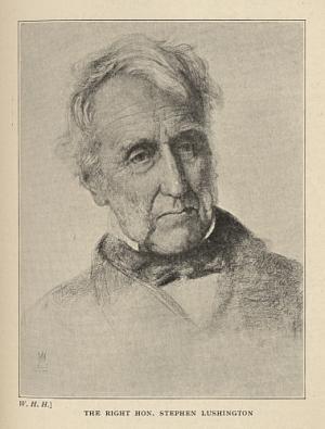 THE RIGHT HON. STEPHEN LUSHINGTON