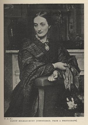 FANNY HOLMAN-HUNT (UNFINISHED, FROM A PHOTOGRAPH)