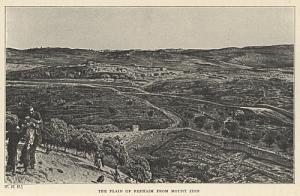 The Plain of Repham From Mount Zion