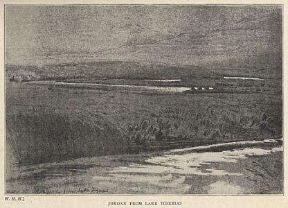 Jordan from Lake Tiberias