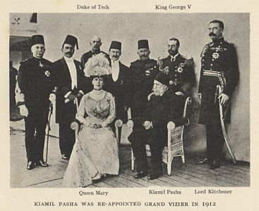 Kiamil Pasha was Re-Appointed Grand Vazier in 1912