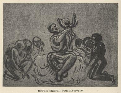 Rough Sketch for Nativity