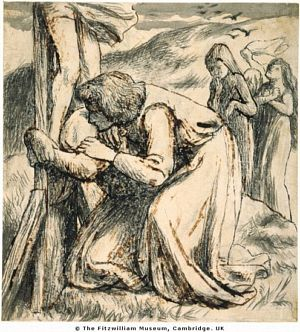 St. John Comforting the Virgin at the Foot of the Cross
