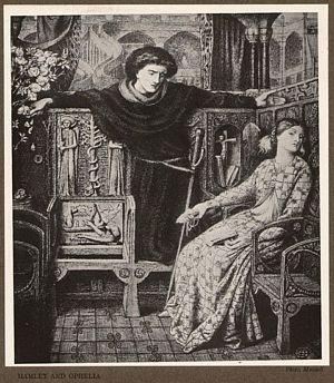 Hamlet and Ophelia