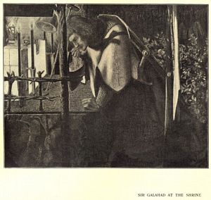 Sir Galahad at the Ruined                         Chapel