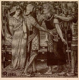 Joseph Accused before Potiphar [print]