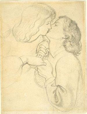 The Rose Garden (preliminary sketch)