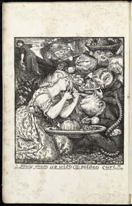 Woodcut for Goblin Market (frontispiece)