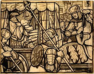 The Story of St. George and the Dragon: The Princess Sabra Taken to the Dragon