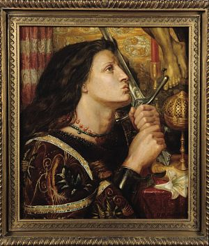 Joan of Arc Kissing the Sword of Deliverance