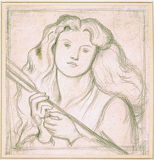 Venus Verticordia (sketch of head and bust)
