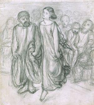 Aspasia Teaching Socrates to Dance