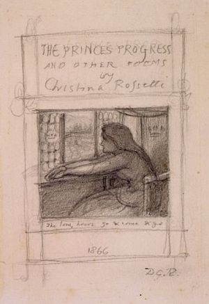Prince's Progress (sketch for the title page)