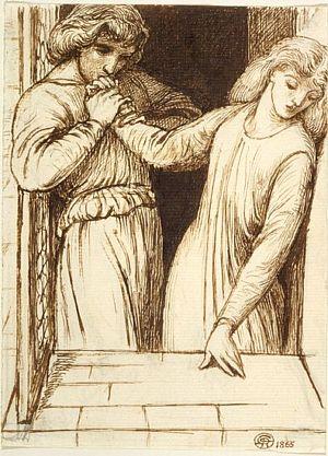 Hamlet and Ophelia (study)