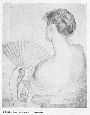 Lady with a Fan