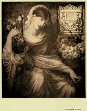 Roman Widow (Dis Manibus.)