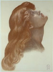 Astarte Syriaca (drawing of head of left–hand Attendant)