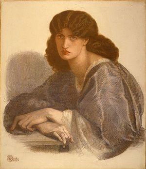 La Donna Della Finestra (finished drawing)