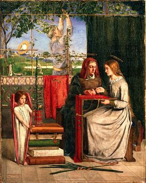 The Girlhood of Mary Virgin