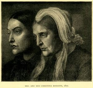 Christina Rossetti and Mrs.                         Gabriele Rossetti