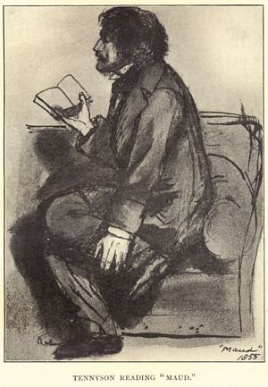 Tennyson reading Maud