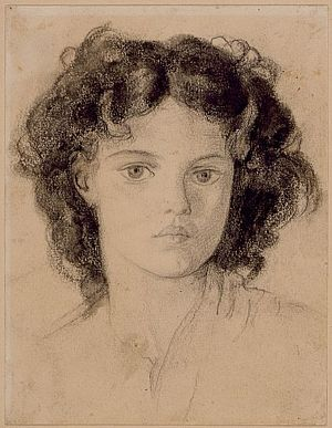 Portrait of an Unidentified Young Girl