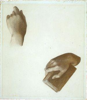 Study of Hands [Unidentified Portrait]