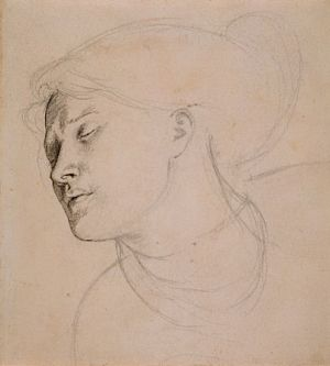 Found (study for head of woman)