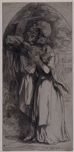 Man and Woman Standing Under a Tree