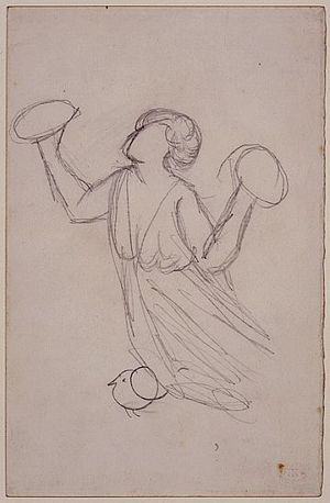 Angel with Cymbals