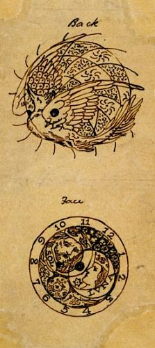 Designs for Engraving on the Back and Face of a Watch