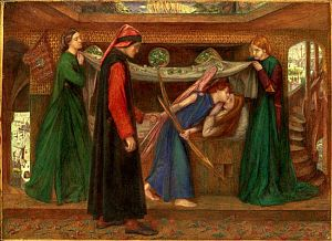 Dante's Dream at the Time of the Death of Beatrice