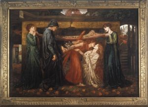 Dante's Dream at the Time of the Death of Beatrice (large replica)