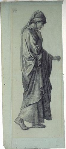 Dante's Dream at the Time of the Death of Beatrice (study for Dante)