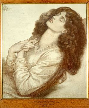 Dante's Dream at the Time of the Death of Beatrice (study for Beatrice)