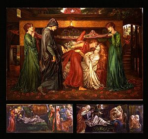 Dante's Dream at the Time of the Death of Beatrice (replica)