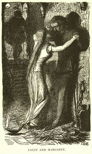 Faust: Faust and Margaret in                         Prison