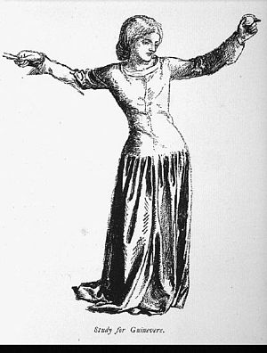 Sir Launcelot's Vision of the Sanc Grael. [study]